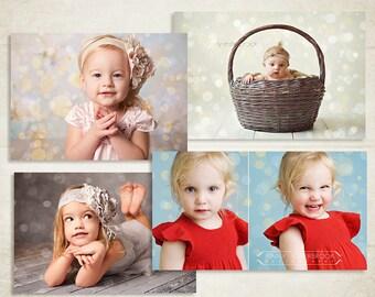 Bokeh Photo Overlays - ID162, Instant Download