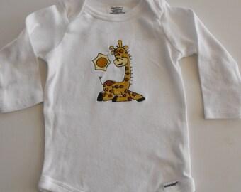 Baby Onesie, embroidered onesie, appliqued onesie, embroidered baby onesie, embroidered onesie set