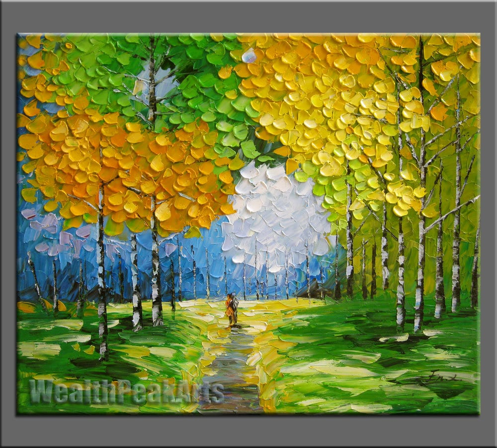 Original oil paintingimpasto oil on canvashand - Fotos de cuadros modernos ...