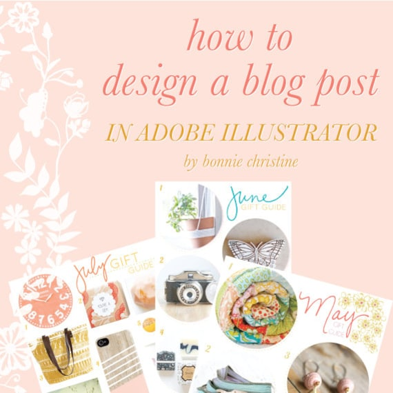 how to design a blog post in adobe illustrator
