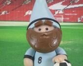 Sports Fan Gnome for Fairy Gardens OOAK handmade miniature, ornament