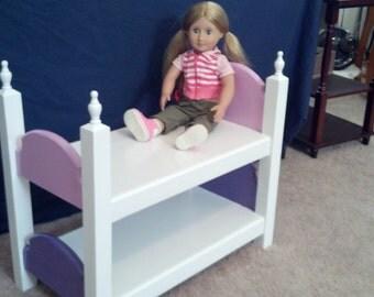 """Doll bunkbeds for 18"""" or taller"""