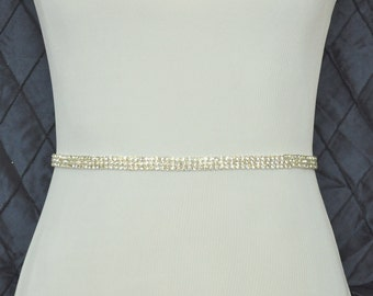 Crystal Wedding Belt, Wedding Sash, Bridal Belt, Bridal Sash, Wedding Dress Belt, Wedding Dress Sash, Bridesmaid Belt, Crystal Rhinestone
