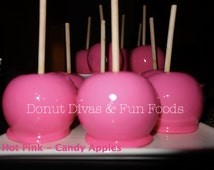 Candy Apples  (8 apples)- Special Colored