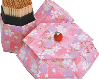 Chiyogami Paper Toothpick Stand and Small Box DIY Kit