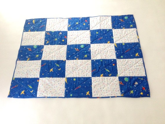 Outer space quilt baby quilt planets quilt baby boy quilt for Outer space quilt