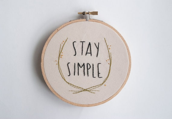 Simple Embroidery Designs Quotes