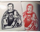 Denver Broncos Peyton Manning Sticker