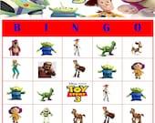 Toy Story Bingo Instant Download