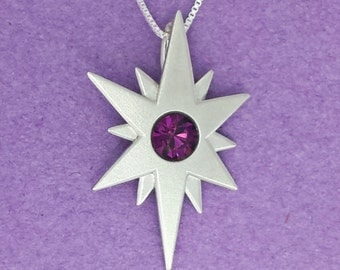 Silver Magic Mark Pendant