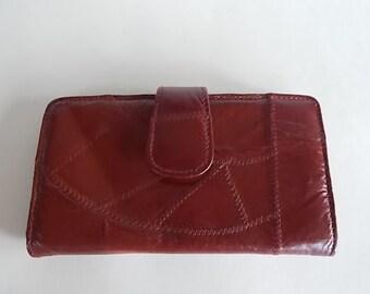 Vintage Genuine Leather Wallet Clutch