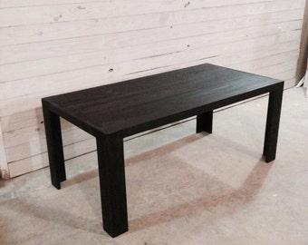 Modern Dining Table (ebony)