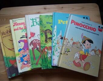 6 Walt Disney's Cildren's Books.