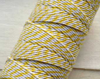 Yellow Cotton Bakers Twine