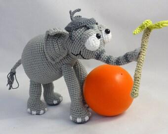 Amigurumi Crochet Pattern - Jambo the Elephant
