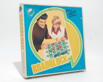 Roadblock Game from Hasbro 1976 COMPLETE