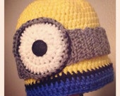 Minion Hat // Made To Order In Various Sizes!