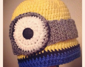 Minion Beanie // Made To Order In Various Sizes!