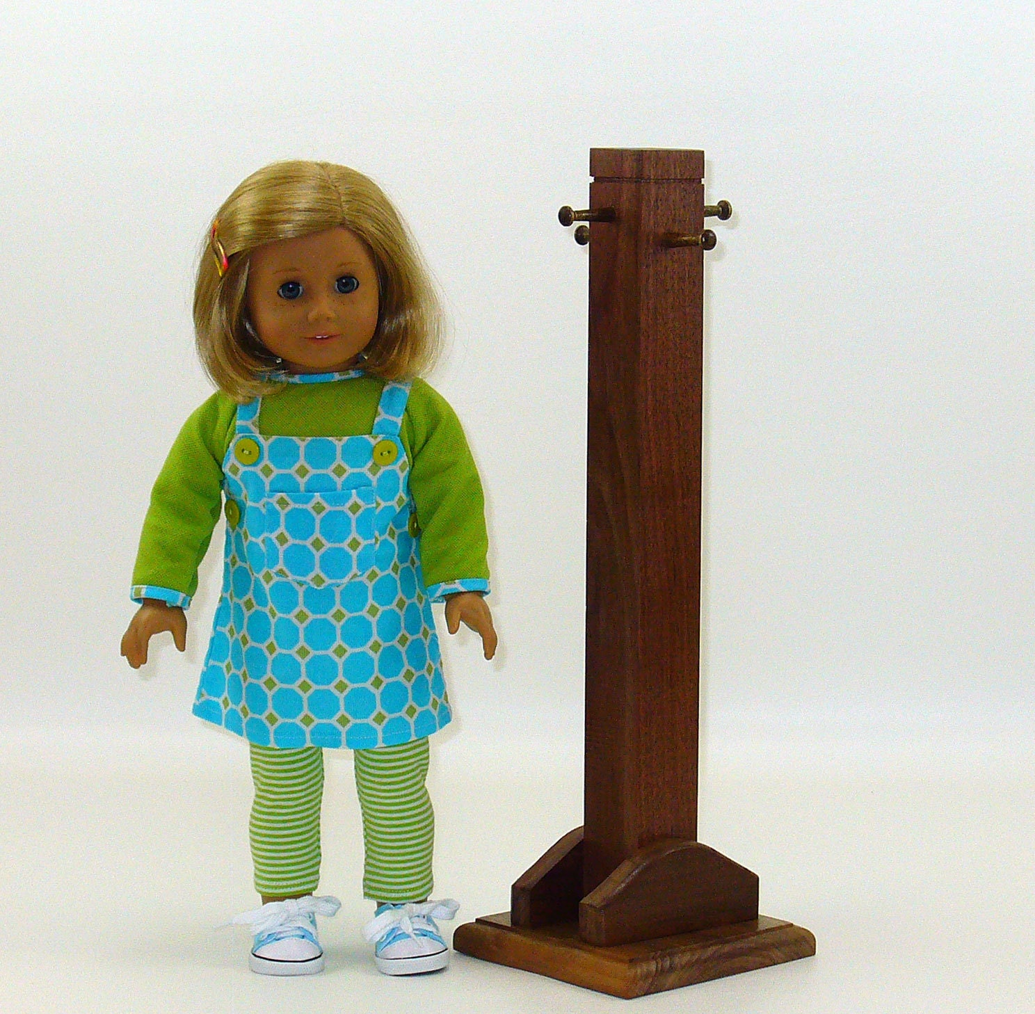 American Girl Doll Furniture Clothes Tree By