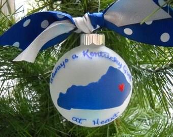 Always a Kentucky Girl Ornament
