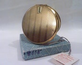 "Vintage 1960s Stratton "" Initial "" compact novelty compact powder compact novelty compacts pick your initial compact pocket mirrors compacts"