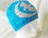 Game of Thrones Crochet Hat - Arryn Falcon & Moon GoT - Song of Ice and Fire - FREE SHIPPING - Crochet Gift Ideas Trends Finds