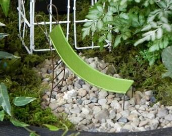 Fairy Garden Bunnies fairy garden accessories Miniature Slide