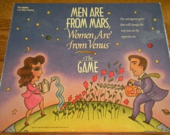 Men are From Mars Game - Matel