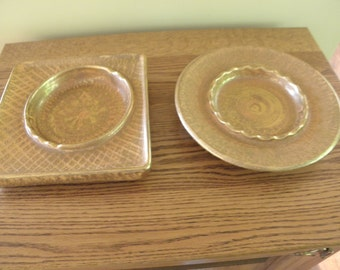 Pair of Stangl Ashtray Mid Century