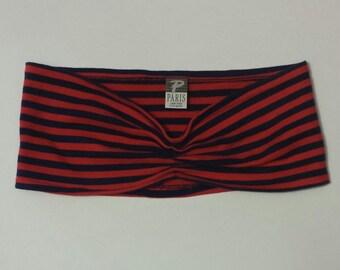 Vintage Striped Tube Top