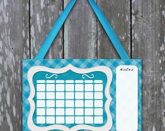 Cute dry erase calendar for girls