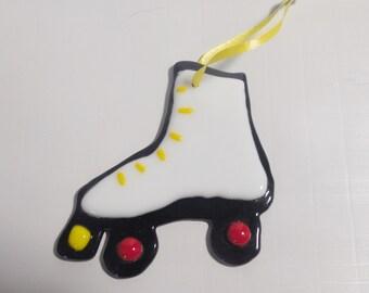 Roller skate SunCatcher / rollerskate Ornament.