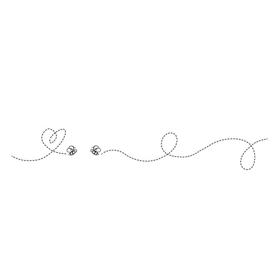 Wedding Invitation Clip Art Graphic Bumble Bee Original