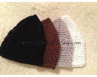 Free Kufi Beanie Hat Crochet Pattern : Crochet kufi hat Etsy