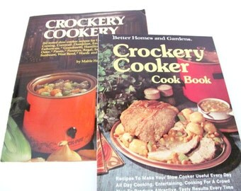 Vintage Cookbooks, 1970's Crockpot Cookbooks, Better Homes Slow Cooker, Crockpot Recipes, Vintage Recipes, Mid Century Kitchen, Old Cookbook