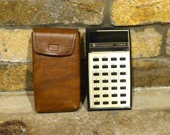 Vintage Texas Instruments Calculator