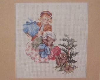 cross stitch beatrix potter mrs tiggy winkle  CHART INSTRUCTIONS ONLY lakeland artist new