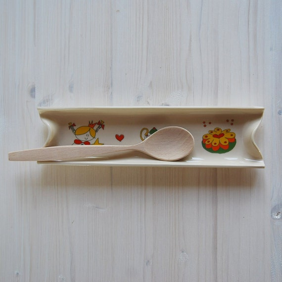 Spoon rest, Serving Dish, serving tray, birthday cake, tea pot, fairy, Handmade ceramic tray
