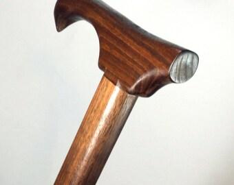 Handmade Walking Cane,  Solid Walnut Cane, Wood Cane, Walking sticks canes
