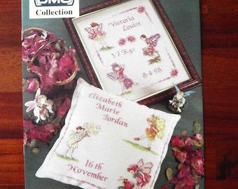 Flower Fairies Cross Stitch Pattern Book soft back