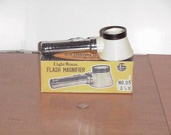 Vintage 60's Lighthouse Flash Magnifier No 35