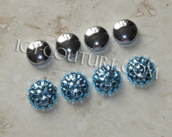 decorative crystal bling screw caps covers for license plates frames - Decorative Screws