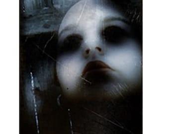Gothic Art, Dark Doll Art, Haunted, Ghost, Macabre Art