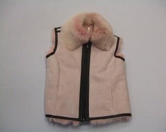 TD Womens  RIMINI  Shearling Vest