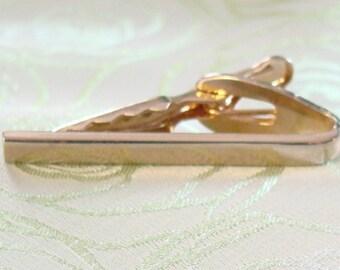Gold Tone Classy - Classic Tie Bar - Tie Clip