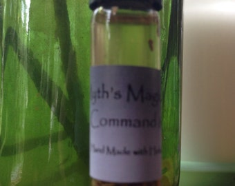 Command and Compel Oil, Hoodoo, Metaphysical, Magick, Voodoo, Pagan, Alchemy Cleanse, Conjure, Roots, Herbs, Spiritual Blend, Wiccan