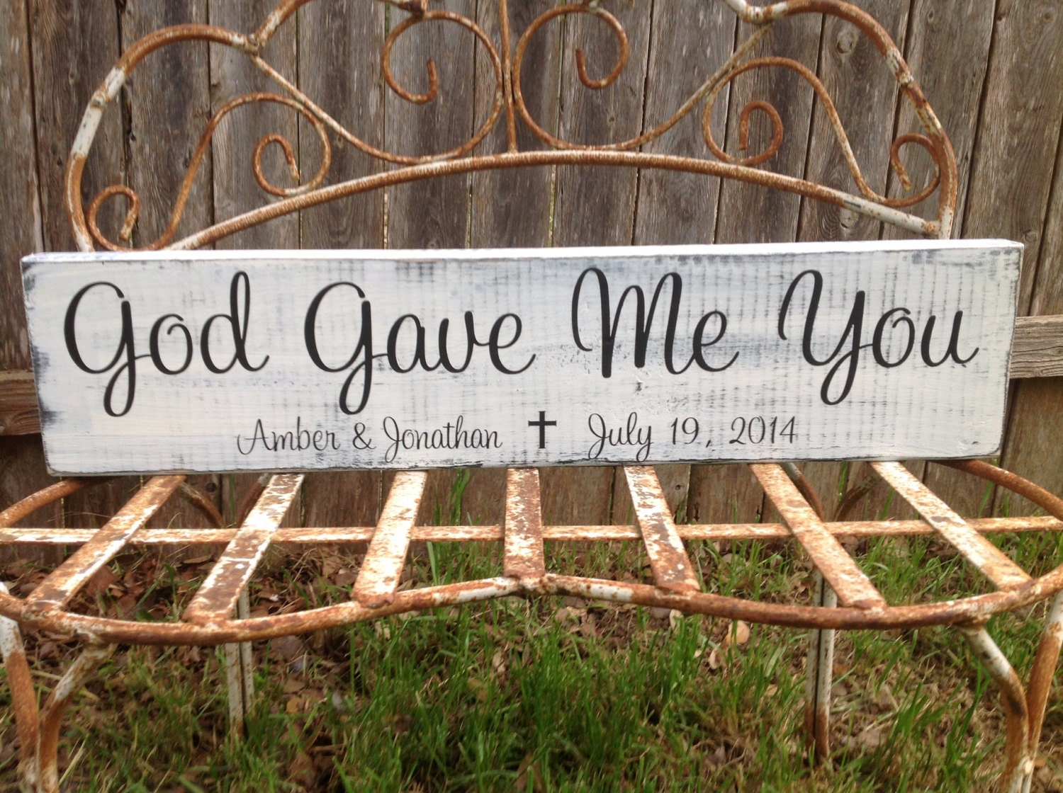 Me To You Wedding Gifts: God Gave Me You Personalized Wedding Gift Anniversary Gift