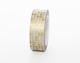 Gold Geo Washi Tape