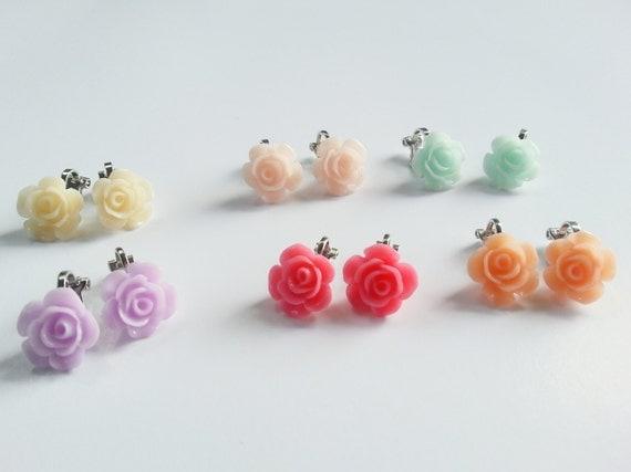 Clip on earrings for kids girls