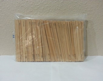 500 Count Skinny Craft Sticks IT979 FRBE2